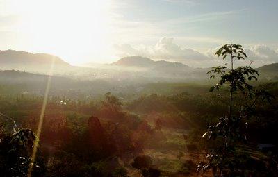 Sunrise over Kathu, Phuket