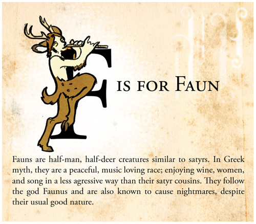Amazing F Is For Faun