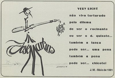 VERY LIGHT - Maio de 1991 - José Martins - O MESTRE