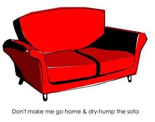 Dry Hump Sofa