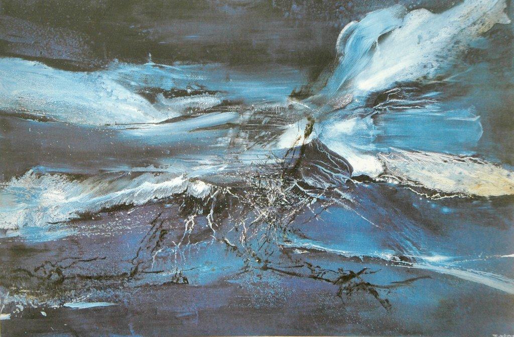 L 39 oeuvre de zao wou ki for Artiste peintre chinois