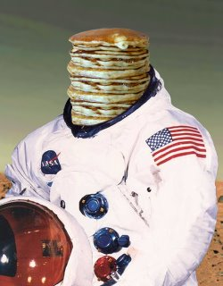 Crepes in Spaaaace!