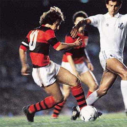 Great Brazilian footballers: Pele, Garrincha and Ronaldo