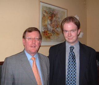 David Trimble and the author