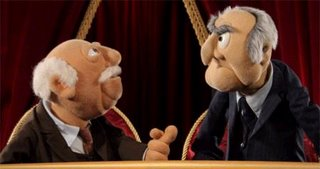 Statler From Muppet Show The By Waynekaa Of Balcony Muppets Aridaz