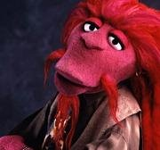 Very few people know who this Muppet is either! (It's Clifford)