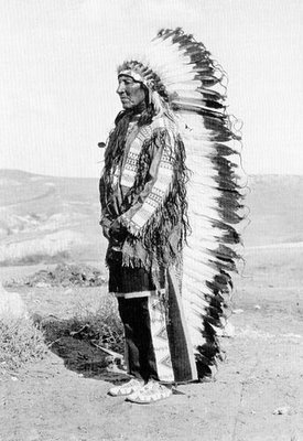 hombre aguila sioux eagle man ancient natives american photo Jhon Andersson Eduard S. Curtis
