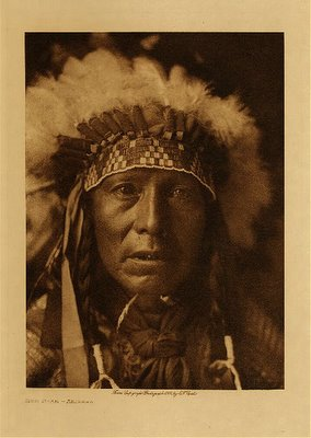 indian man photo native american Jhon Andersson Eduard S. Curtis foto indigena americano blog colombia