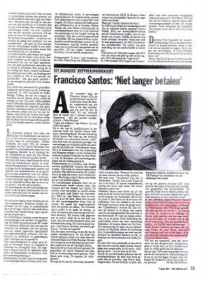 francisco santos pachito vicepresidente uribe fumando bareta marihuana porros blog comprar droga bareto bogota