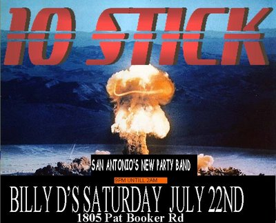 10stick at Billy Ds