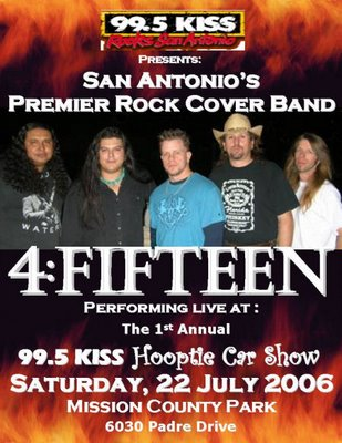 4-Fifteen at the 99.5 KISS Hooptie Car Show