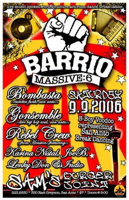 Barrio Massive 6 Bombasta Gonsemble and Rebel Crew