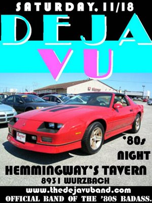 Deja Vu Band at Hemmingways in San Antonio