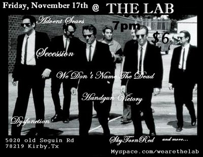 Bands at The Lab in Kirby Friday