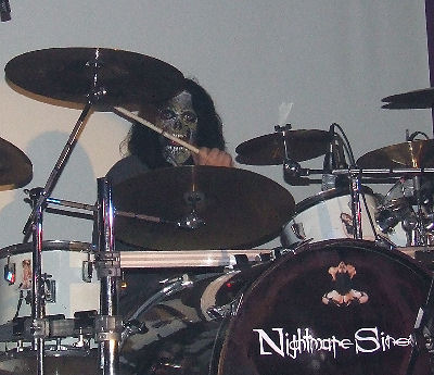 Nightmare Sinema Drummer
