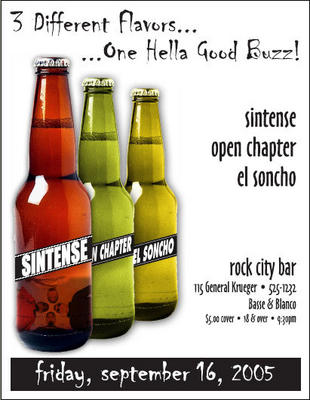 Sintense Open Chapter El Soncho at Rock City Bar