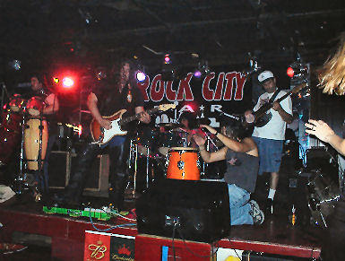 TKF at Rock City