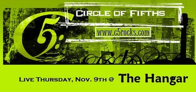 Circle of Fifths at The Hangar Thursday