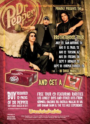 Del Castillo and Los Lonely Boys Free Compilation CD