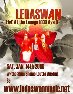 Ledaswan at the Lounge
