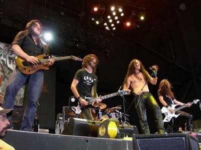 Dragonforce at Ozzfest 2006 in San Antonio