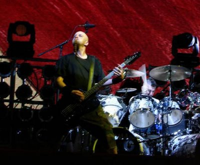 Shavo Odadjian of SOAD at Ozzfest