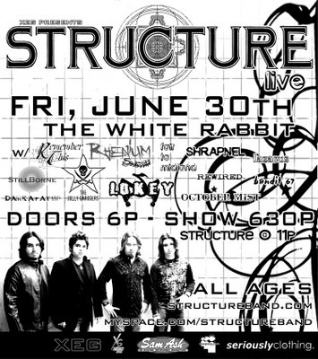 Structure at White Rabbit