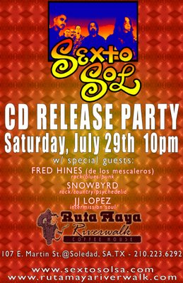 Sexto Sol cd release party