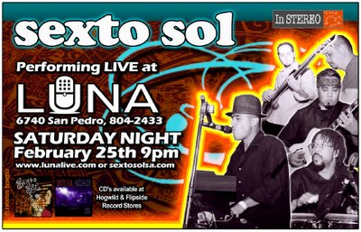 Sexto Sol at Luna