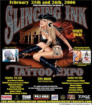 Slinging Ink Tattoo Expo