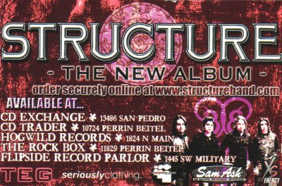 Structure Album Flyer