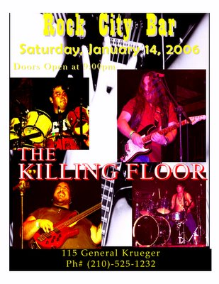 The Killing Floor at Rock City Bar