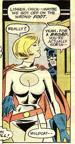 Powergirl,¿personaje subvalorado en DC Universe?: Pgwca