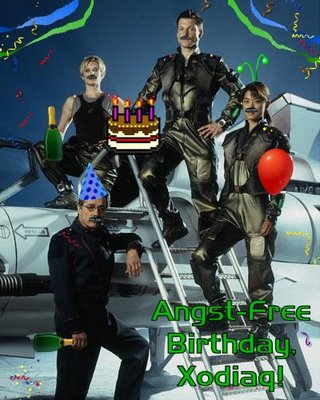 Angst-Free Birthday, Xodiaq!
