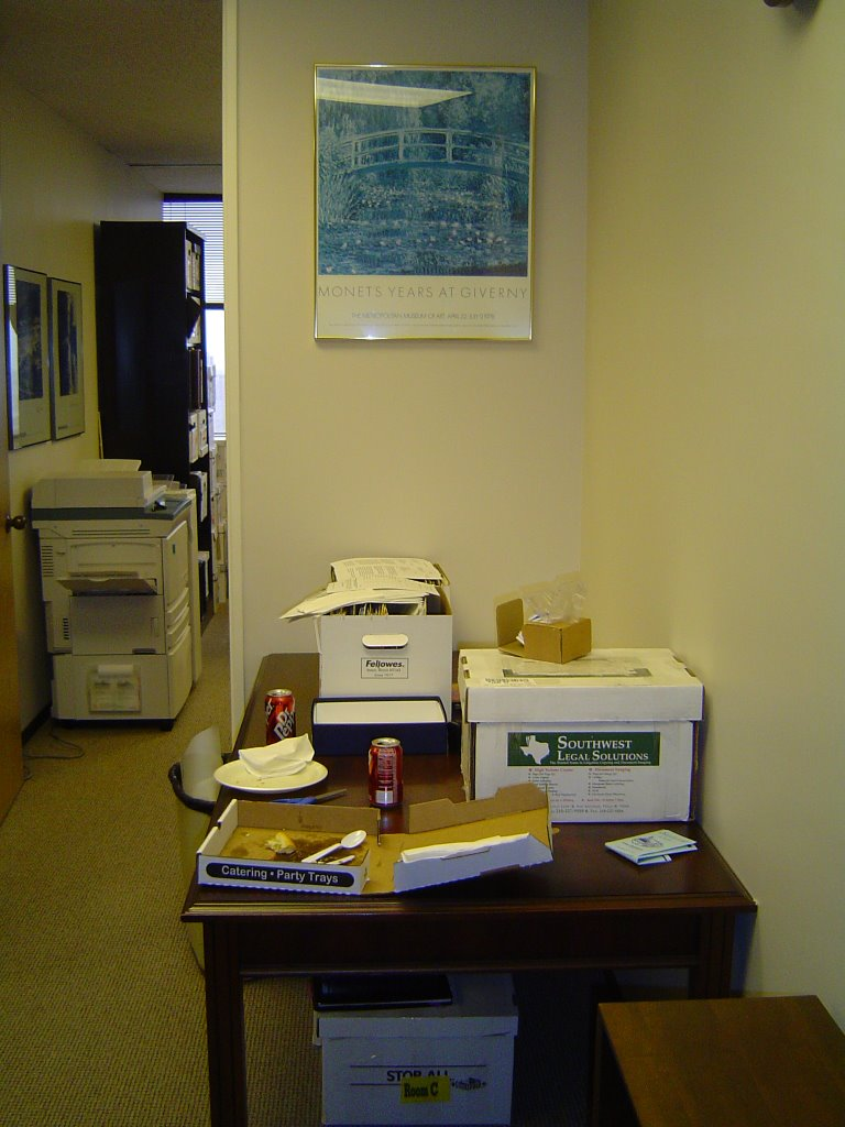 What Color Would A Logger Paint His Office