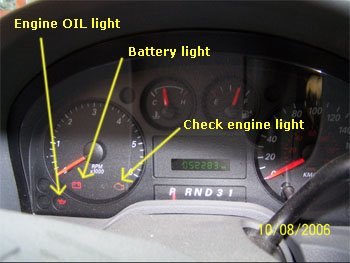 how to clear 2010 caravan check engine light
