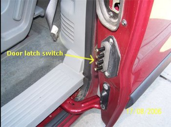 Ford Door Latch Switch