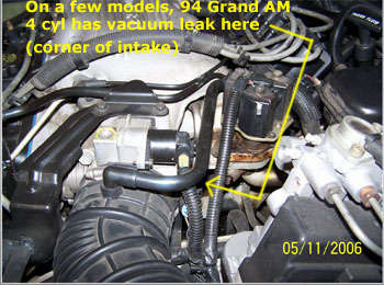 intake leaak 94 Grand Am copy check engine light codes 1994 grand am wiring diagram at gsmx.co