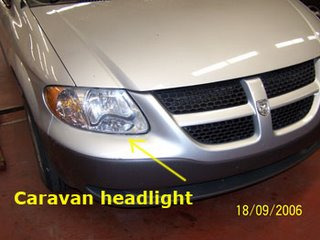 2002 Dodge Caravan Headlight Problem submited images.