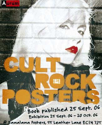 Cult Rock Posters 1972-1982