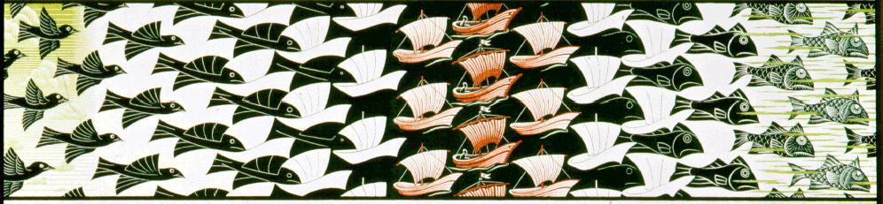 Nonsoloarte for Escher metamorfosi