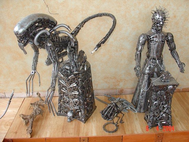 Необычные из метала своими руками