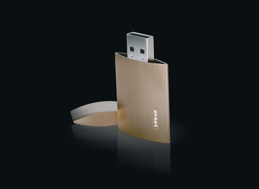 USB Key Sports Gold, Diamonds