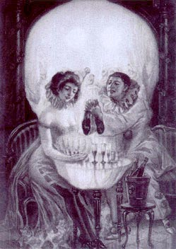 Skull or a couple Illusion