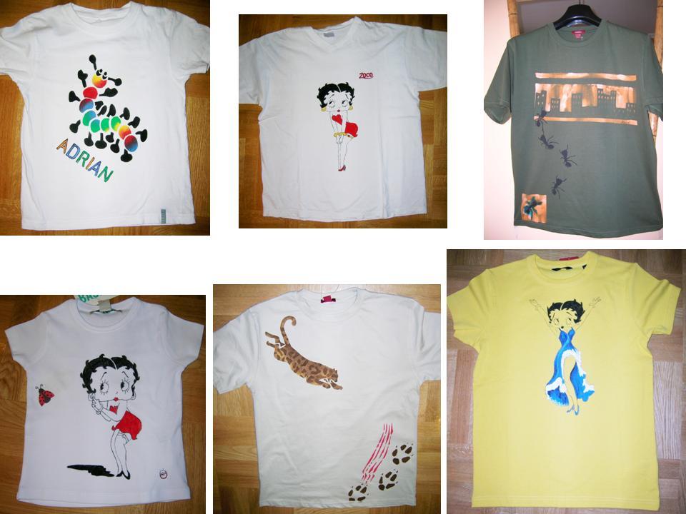 El rinc n de rida tutorial para pintar camisetas - Pinturas para pintar camisetas ...