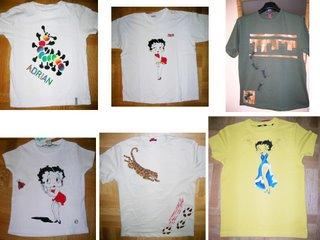 El rinc n de rida tutorial para pintar camisetas - Plantillas para pintar camisetas ...