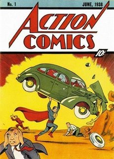 http://en.wikipedia.org/wiki/Action_Comics