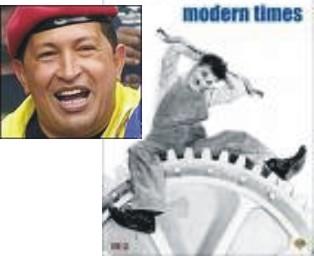 Hugo Chávez e Carlitos, Google