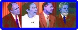 Os candidatos no Jornal da Globo