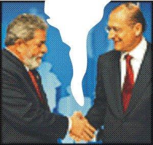 Lula e Alckmin, Jonne Roriz/AE